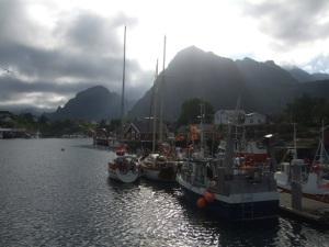 Aldarion moored Lofotens