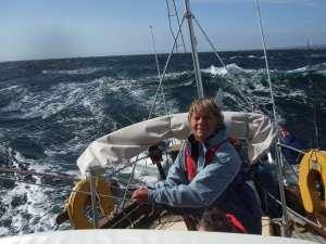 Berit at Helm