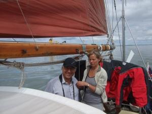 Berit & henning, limfjord 2011