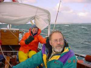 Gundrys on sail to Dartmouth dec04