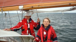 Gunnar & Poula, Limfjord 2008
