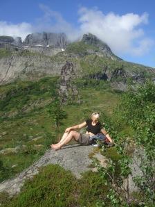 karen climbing, Lofotens