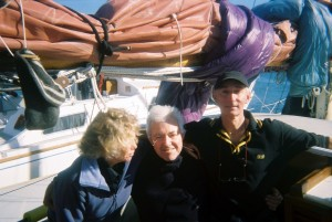 me with alasdair h and rona g, tanager 2007