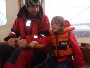 Robin & Veyatie, en route to Lofotens 2010