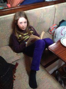 v tired reading