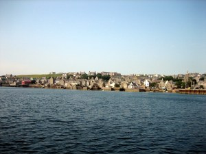 view of stromness, orkney is.