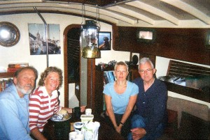 with david and rona, norway 2007, below