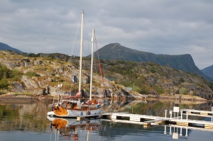 Moored at Kabelvaag
